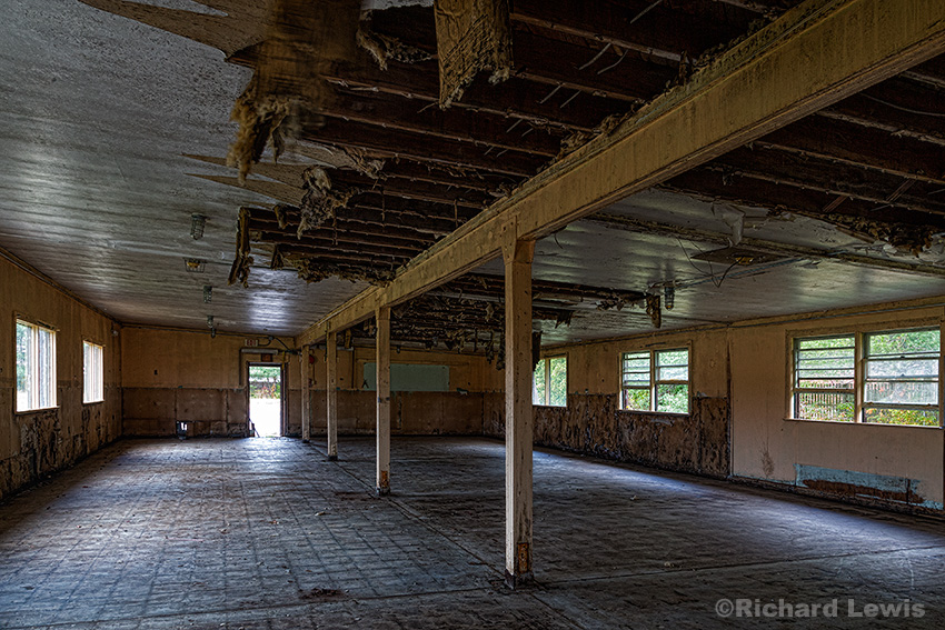 Nike Missile Battery Administration/Barracks Interior by Richard Lewis 2015