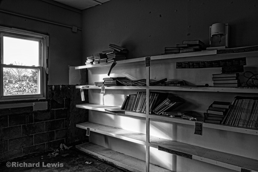 School Library by Richard Lewis Nike Missile Battery PH23/25