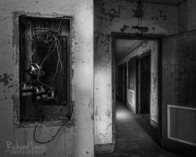 The Hallway at Pennhurst by Richard Lewis