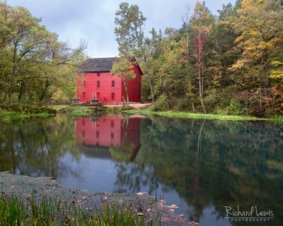 Alley Mill Ozarks Missouri by Richard Lewis