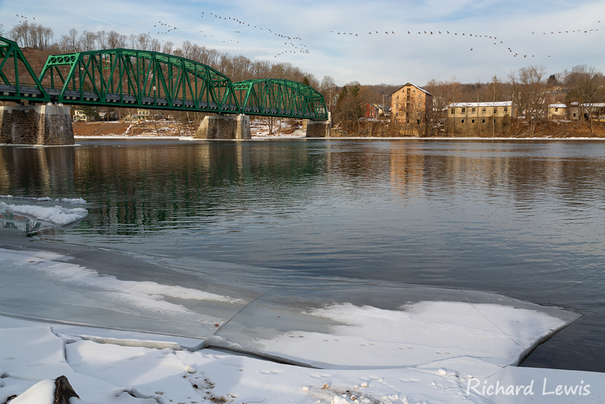 Delaware River at Milford and Upper Black Eddy