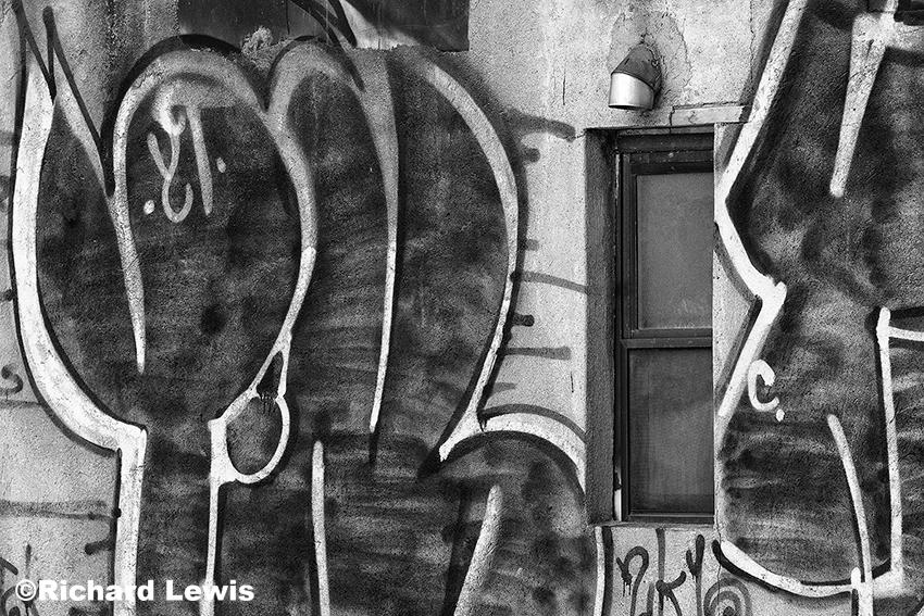 New York City Graffiti from the Highline
