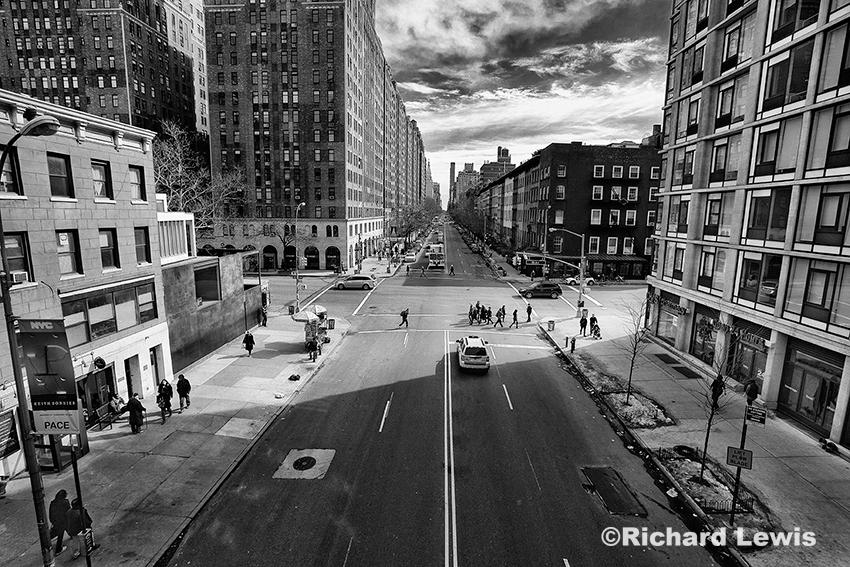 Manhattan NYC Street Scene