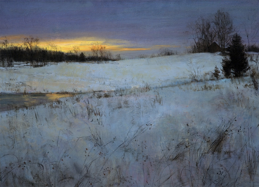 Winter Afterglow by Peter Fiore