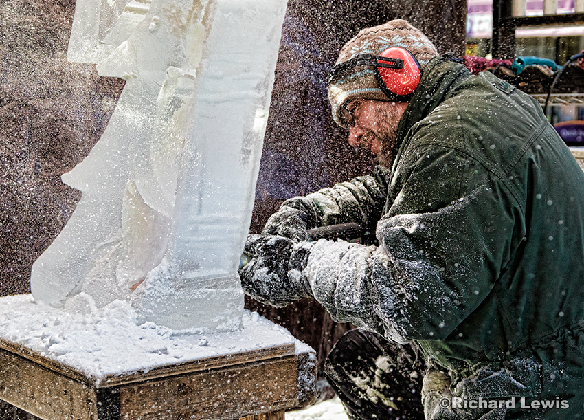 Ice Carver #2 by Richard Lewis