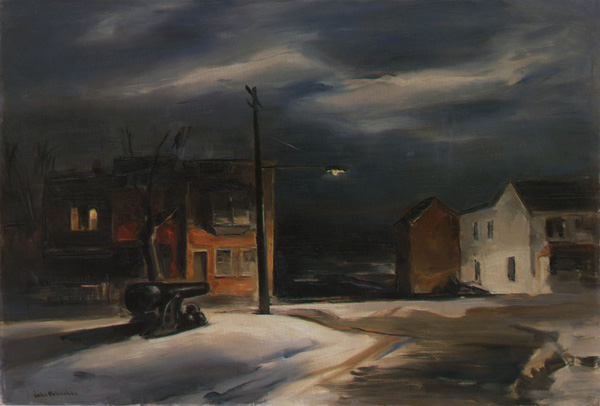 Night by John Folinsbee 1949