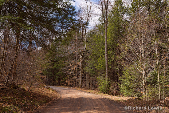 Just Around The Bend by Richard Lewis Worlds End State Park