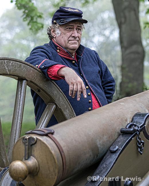 Artillery Man 1 by Richard Lewis