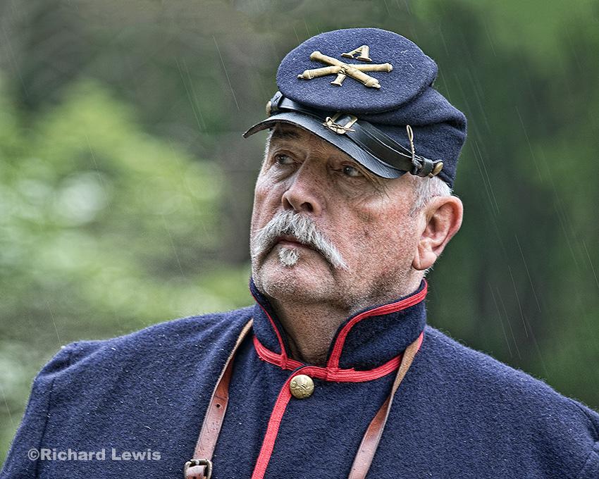 Artillery Man 3 by Richard Lewis