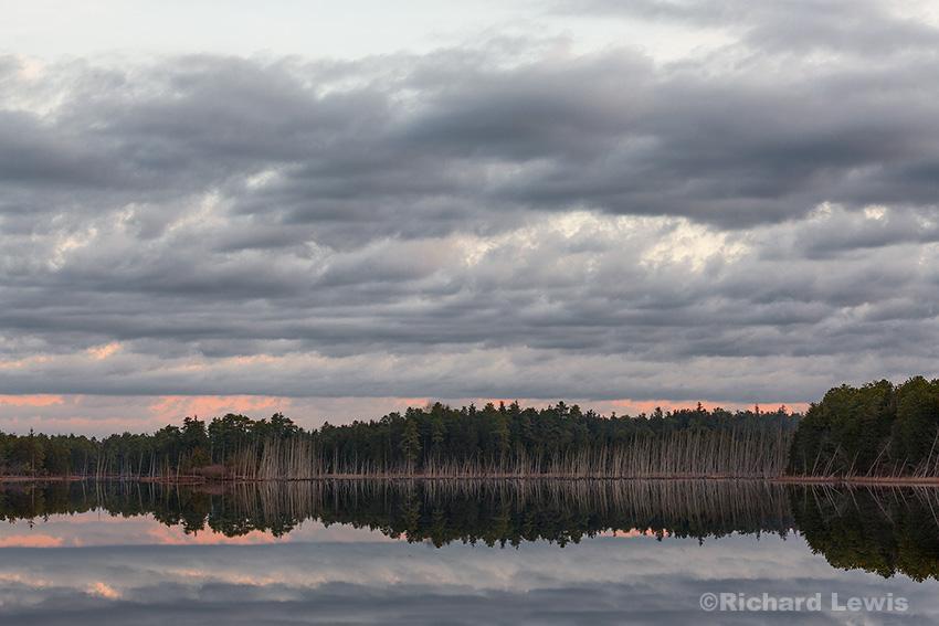 Morning on Chatsworth Lake by Richard Lewis