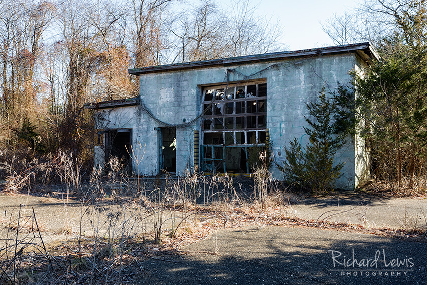 PH58 Nike Missile Assembly Building Exterior by Richard Lewis