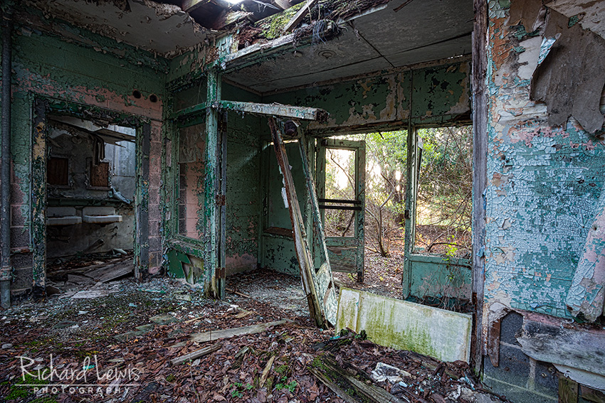 PH-58 Nike Missile Launcher Area Barracks by Richard Lewis