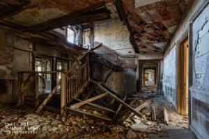 Total Devastation Mc Neal Mansion Grand Staircase