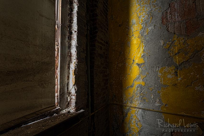 Dark Corner at Pennhurst by Richard Lewis