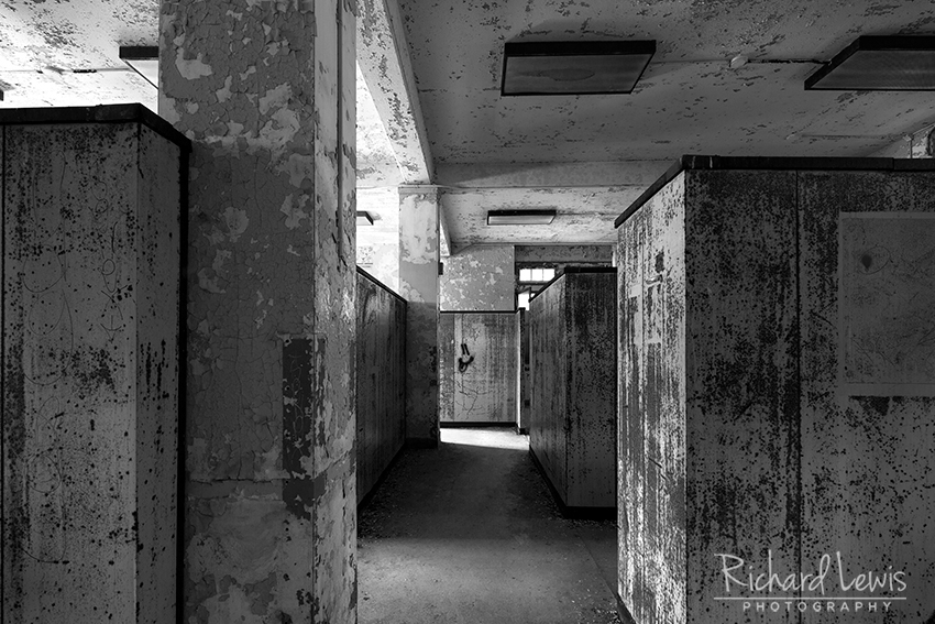 Pennhurst Partitions by Richard Lewis