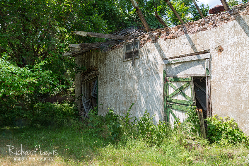 An Old Barn at Pennhurst by Richard Lewis