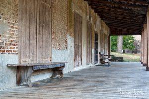 Batsto Porch Frame NJ Pinelands by Richard Lewis
