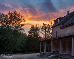 Batsto Sunset in the NJ Pinelands by Richard Lewis