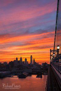 Philadelphia Sunset 2 by Richard Lewis
