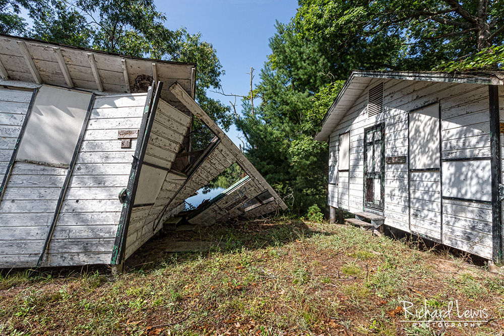 Collapsed Cabin Cejwin Camp by Richard Lewis