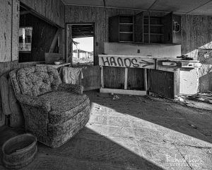 Bombay Beach Building Interior