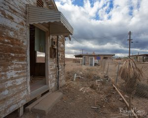 Abandoned Beach House On Bombay Beach