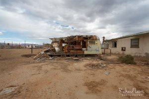 Demolished Trailer On Bombay Beach