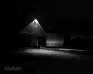 Night On The Farm by Richard Lewis