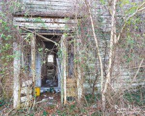 Abandoned Farm House Doorway