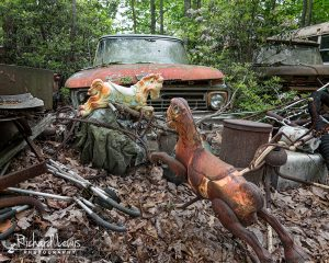 Junk Car and Toys