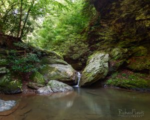 Kellys Run Tiny Waterfall Lancaster Pennsylvania