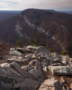 Mt Minsi From Mt Tammany Delaware Water Gap