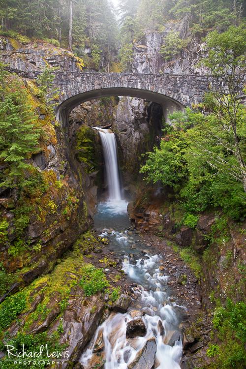 Christine Falls Mt Rainier