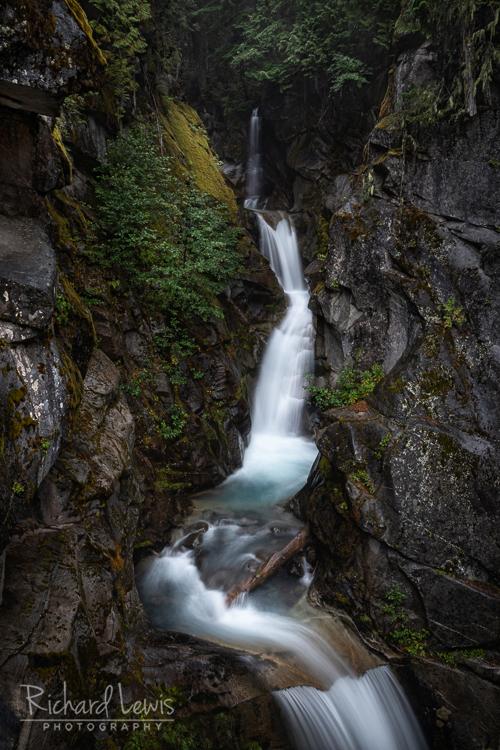Upper Christine Falls Mt Rainier