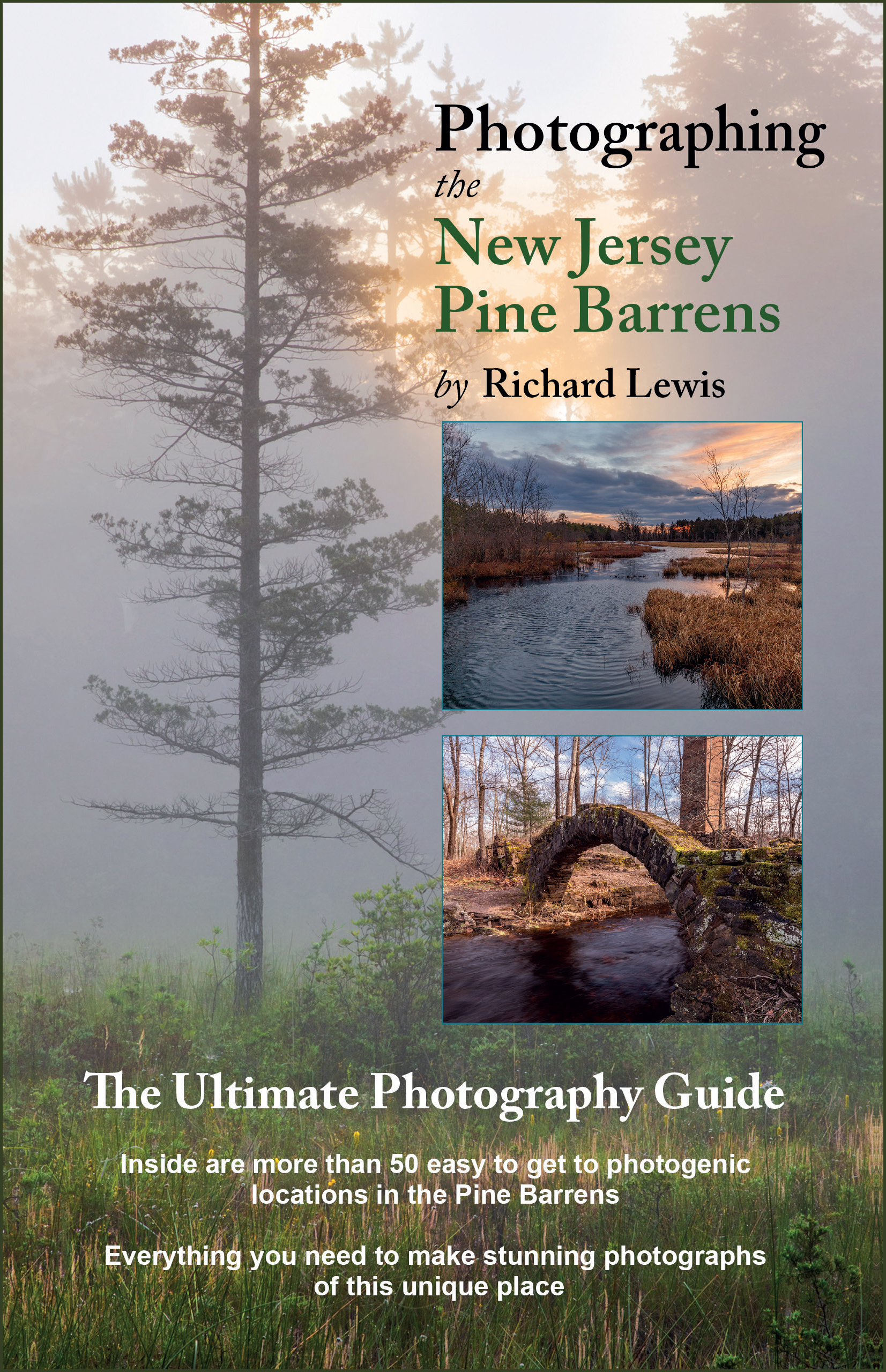 NJ Pine Barrens Photography Guide Book